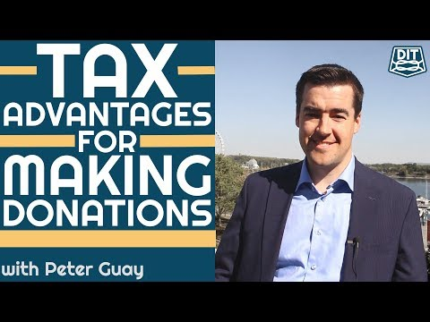Tax Advantages For Making Donations | Financial Planning