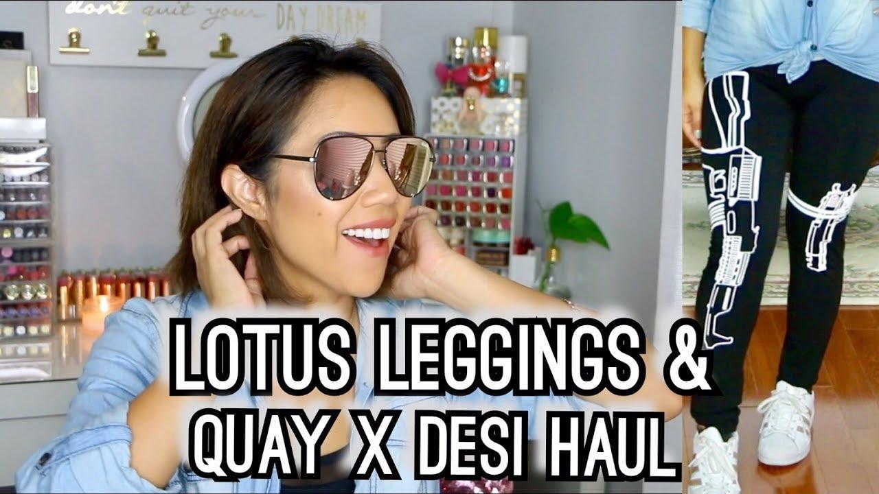 7bfd7999c58 Lotus Leggings   Quay x Desi Haul