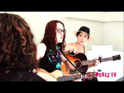 Ingrid Michaelson - Parachute, Everybody, The Way I Am and Maybe (Perez Hilton Performance)