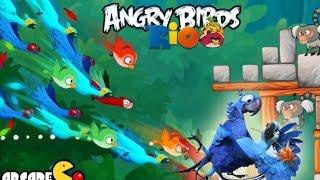 Angry Birds Rio: Timber Tumble Level 1-3 3-Stars Walkthrough (Rio 2 Birds)