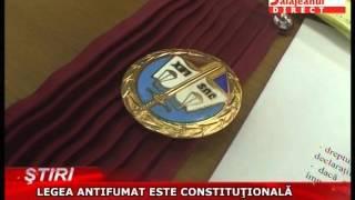 LEGEA ANTIFUMAT ESTE CONSTITUTIONALA