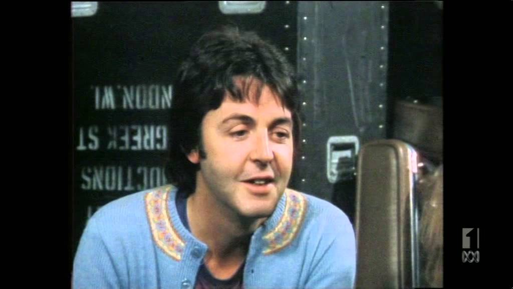 Paul McCartney Interview And Recording Tracks COUNTDOWN April 3rd 1977