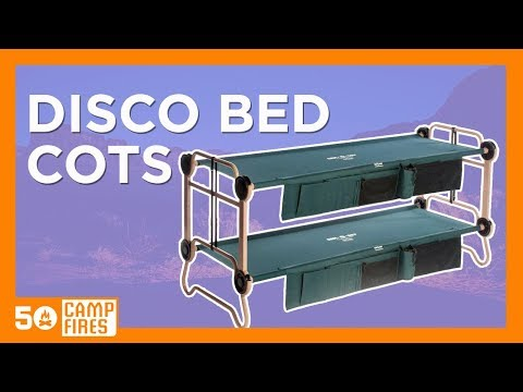 Disco Bed Cots - 50 Campfires