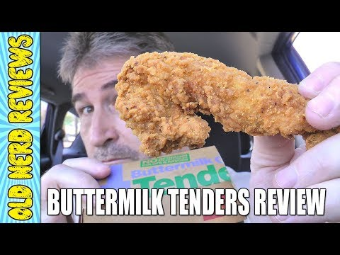 McDonald's Buttermilk Crispy Tenders REVIEW 🐔🍗