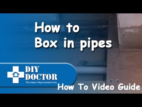 How to box in pipes
