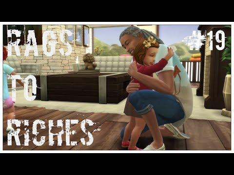 The Sims 4: Rags to Riches   Get Famous    Családi látogatás #19 thumbnail