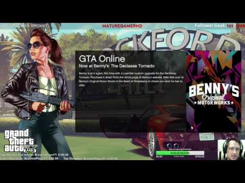 Let's play GTA V Online 1st person - Streaming (uncut) - Ep.19