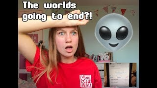 WEIRD VOICEMAIL FOUND LINKING TO END OF THE WORLD?!