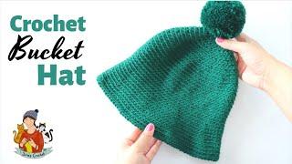 How To Crochet An Easy Bucket Hat