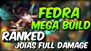 Como subir elo de Fedra/Diana - Melhor ADC? /BUILD MEGA OP + GLIFOS FULL NÍVEL FULL (HEROES EVOLVED)