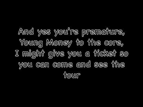 Nicki Minaj featuring Cassie - The Boys, Lyrics. (CLEAN)