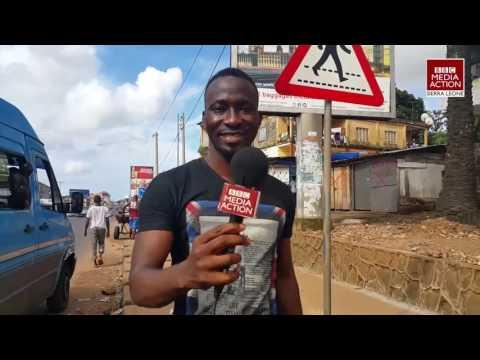 Zebra Crossing in Sierra Leone
