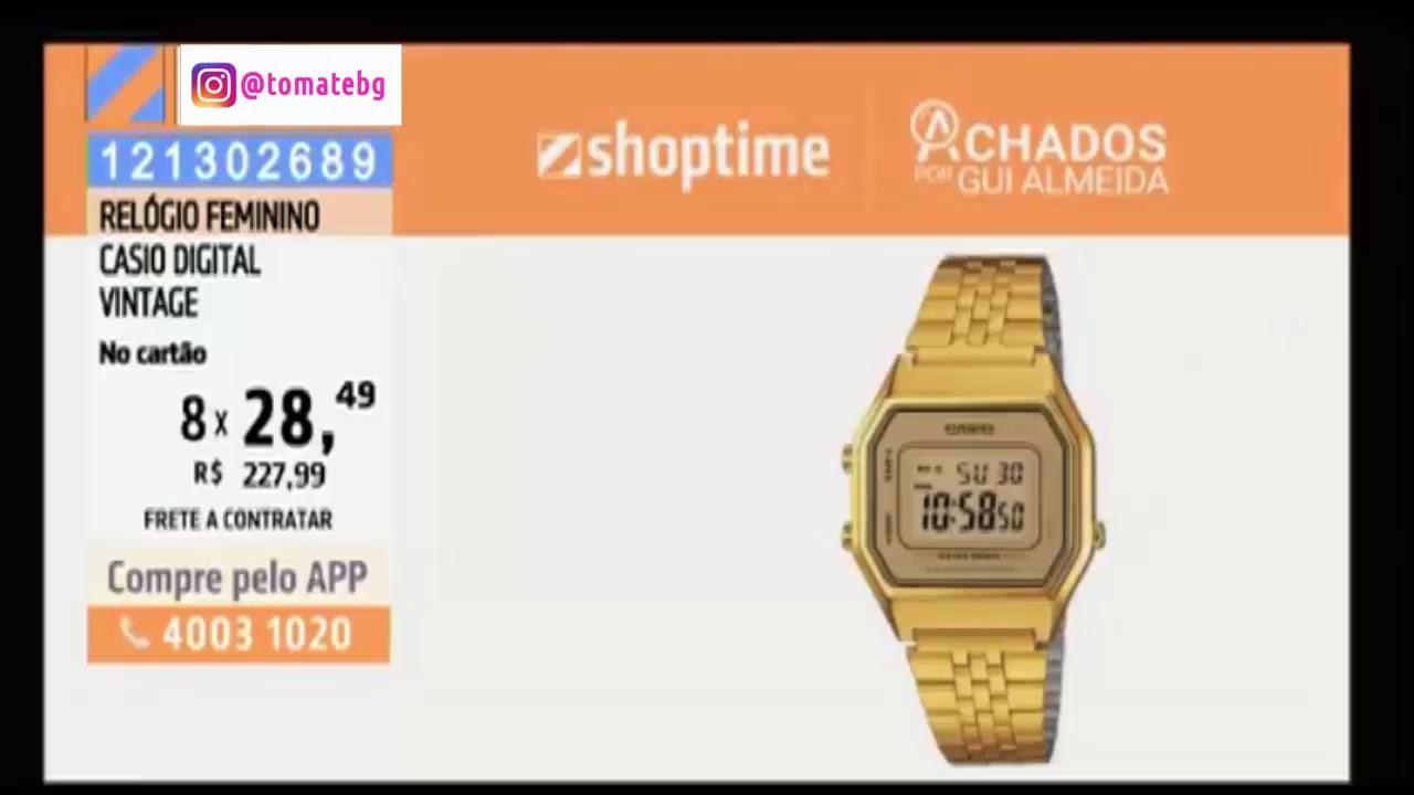 d24b0acede Relógio Casio Digital Vintage - Apresentação - Shoptime - YouTube