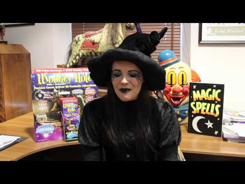 Wookey Hole Witch is looking for Love