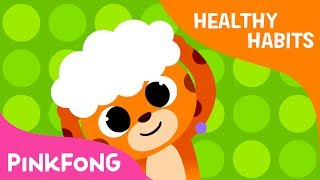 Wash My Hair   Everybody, fun time, shampoo time!   Healthy Habits   Pinkfong Songs for Children