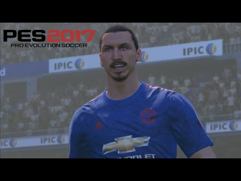 PES 2017 PC | PesGalaxy Hybrid Patch | Fluid Formation | ManU vs Real