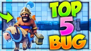 TOP 5 GLITCH e BUG !!! TRUCCHI SEGRETI CLASH ROYALE