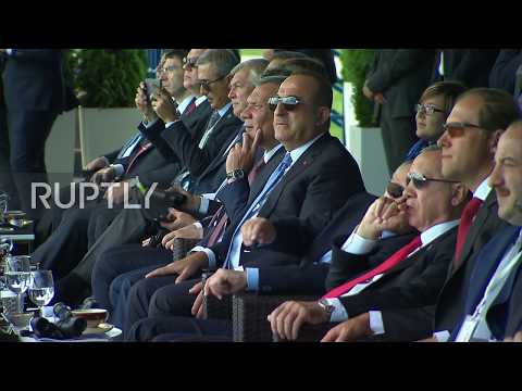 Russia: Putin And Erdogan Enjoy MAKS 2019 Air Show