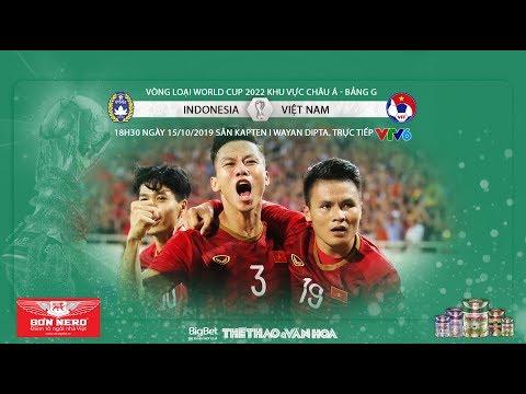 Soi Kèo Indonesia Vs Việt Nam (18h30 Ngày 15/10). Vòng Loại World Cup 2022. Trực Tiếp VTV6