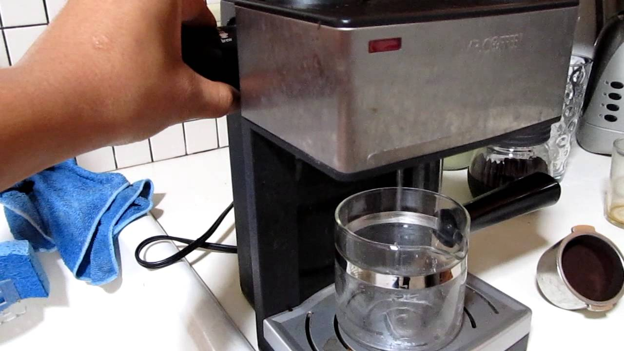 Mr Coffee Coffee Maker Not Working : Mr. Coffee ECM-160, pulling the best shot of espresso. - YouTube