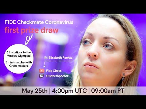 Checkmate Coronavirus with Elisabeth Paehtz | First Prize Draw |