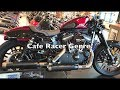Harley Davidson Cafe Racer!!