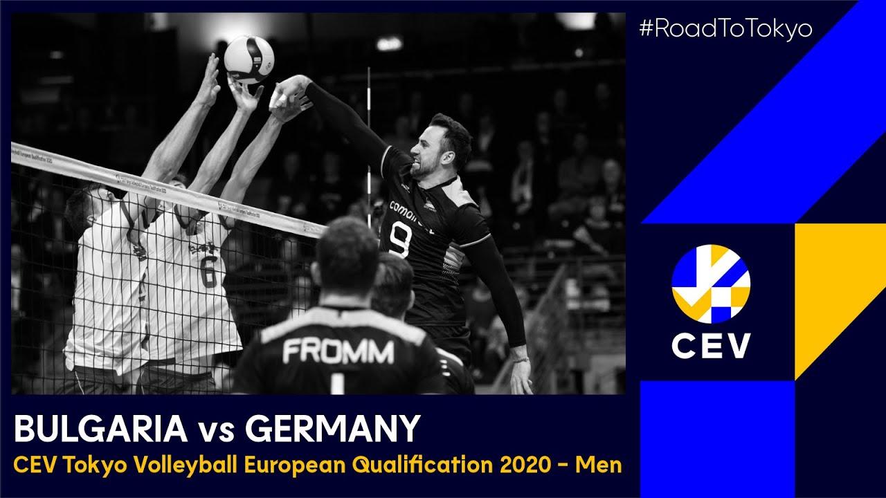Download Bulgaria vs Germany FULL MATCH - CEV Tokyo Volleyball European Qualification 2020 - Men