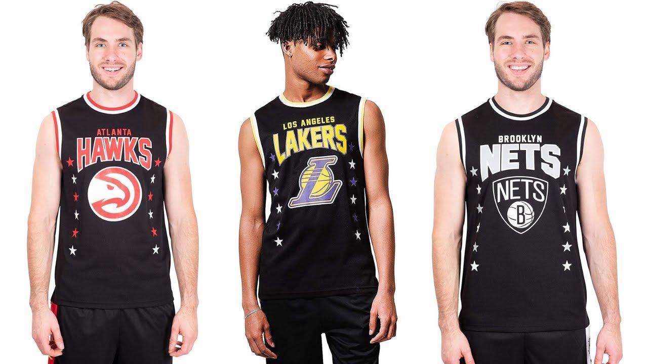 Ultra Game NBA Men's Sleeveless Jersey Tank Top Tee Shirt - YouTube