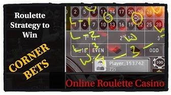 Roulette WIN tricks: corner Bets: online Roulette Casino Games: make money online by casino roulette