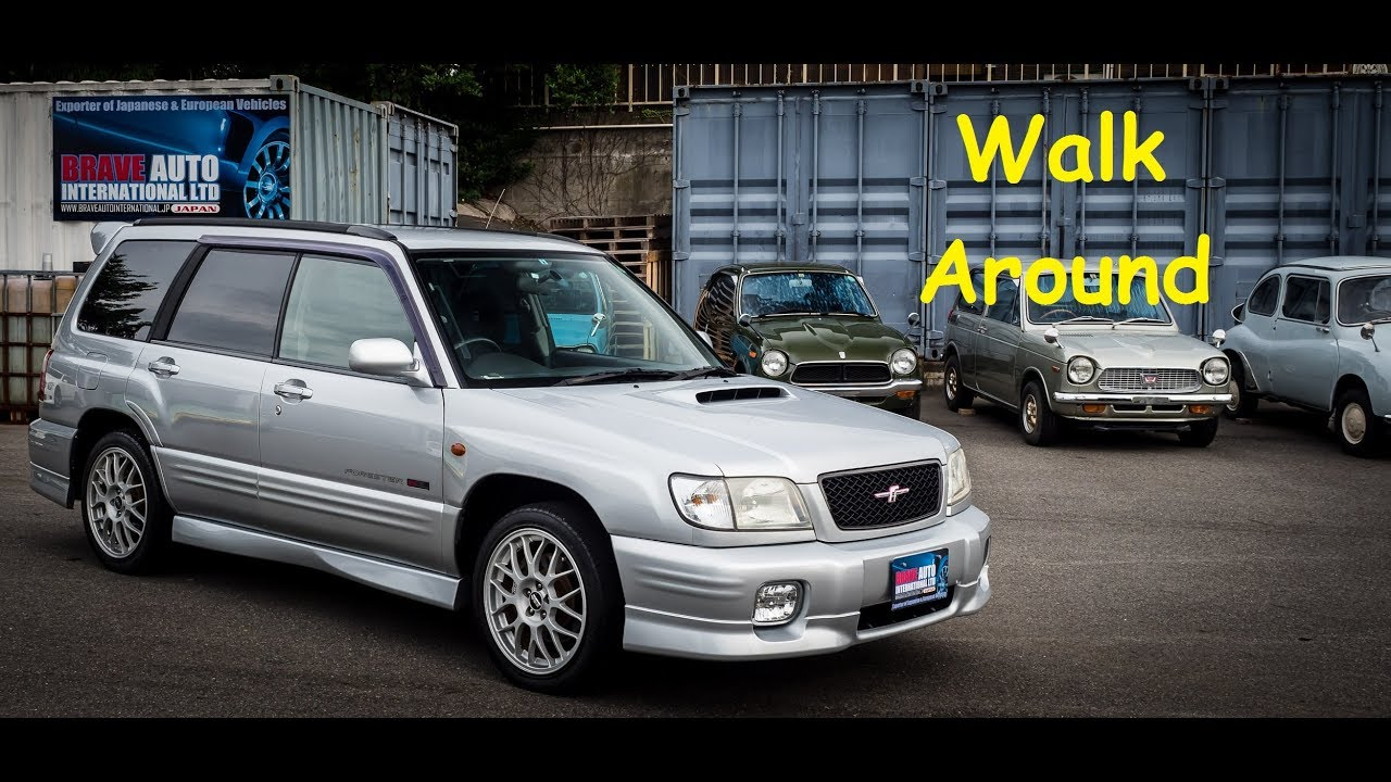 Subaru Forester Sti 2