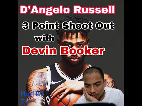 devin-booker-d'angelo-russell-three-point-shoot-out-|-booker-can't-miss-a-shot