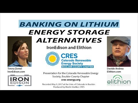 Banking on Lithium: Energy Storage Alternatives
