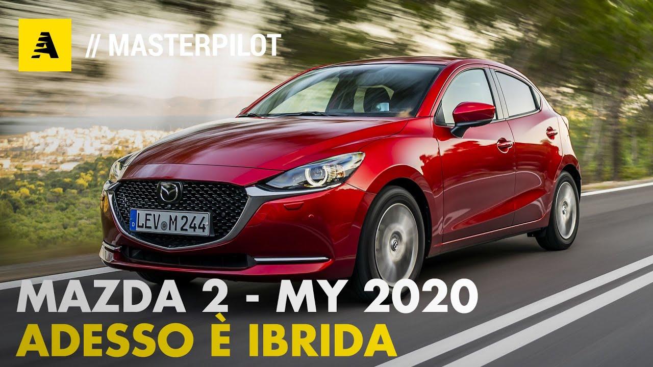 Mazda 2 ibrida 2020 | 90 CV e nuovo look. Pregi e difetti