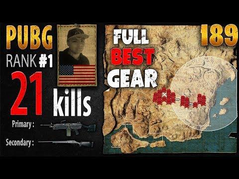 PUBG Rank 1 - Gorb 21 kills [NA] SOLO TPP - PLAYERUNKNOWN'S BATTLEGROUNDS #189