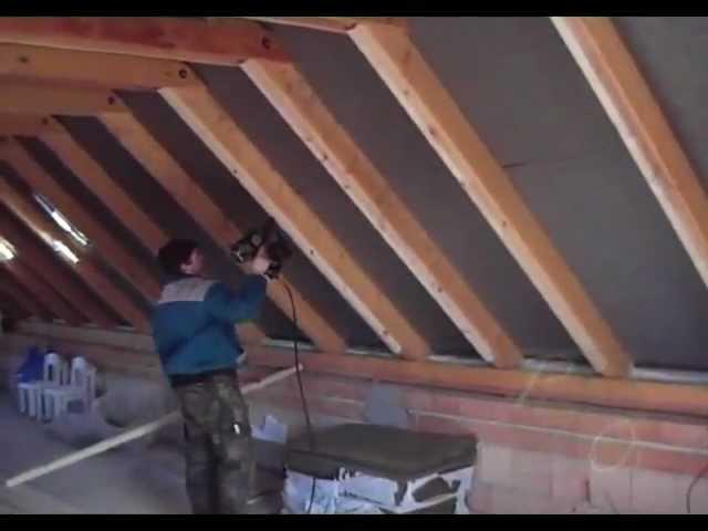 Tetőtér szigetelés gipszkartonozás