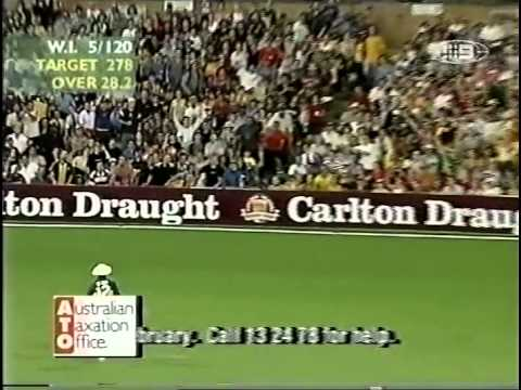 Brian Lara 116 vs Australia SCG 2000/01
