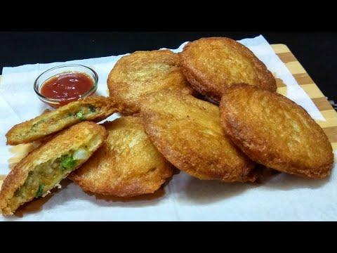 झटपट बनाये क्रिस्पी और स्वादिष्ट ब्रेड की कचौड़ी | Crispy Bread Kachori Recipe | Bread Recipe .