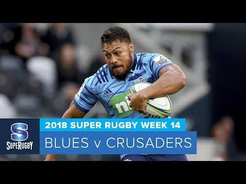 HIGHLIGHTS: 2018 Super Rugby Week 14: Blues v Crusaders