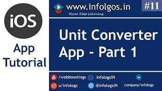 Demo App for Converting Units Part 1 - Tutorial 11
