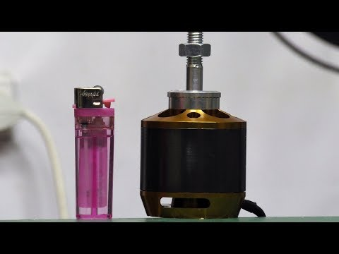 видео: На что способен огромный электро мотор