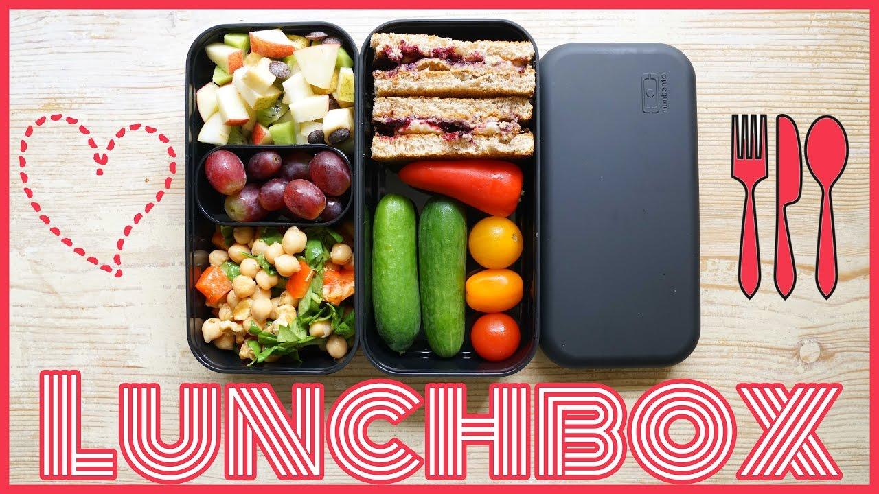 mittagessen zum mitnehmen gesundes pausenbrot snack ideen schule uni arbeit lunch box. Black Bedroom Furniture Sets. Home Design Ideas