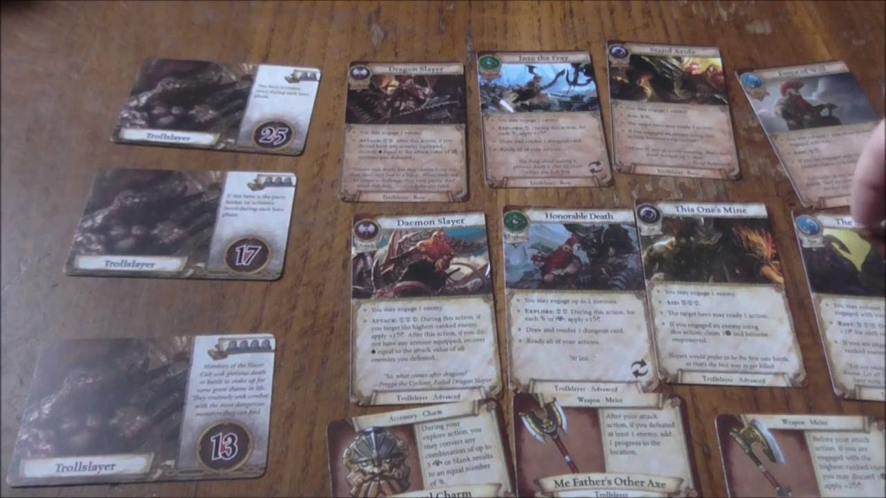 Warhammer Quest: The Adventure Card Game Troll Slayer ...
