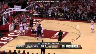 2013-2014 Wisconsin Badgers Basketball Highlights (First Half of Season)