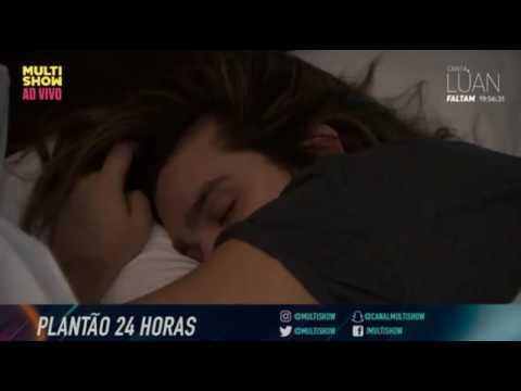 Flash 03 - Canta Luan no Multishow - Hora de dormir -  24HorasComLuan 0208