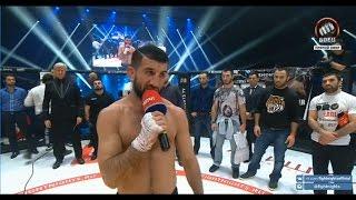 Слова Расула Мирзаева после боя с Леваном Макашвили