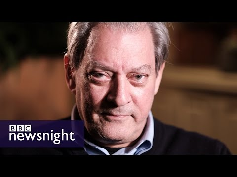 Paul Auster: Donald Trump is 'deranged and demented' - BBC Newsnight