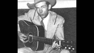 Watch Hank Williams Im So Tired Of It All video
