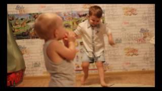 Дети классно танцуют под песню Гагариной/Танцуй со мной