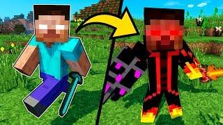 - Майнкрафт ПЕ Мод Как стать Херобрин и защита нуба от Хиробрин в Майнкрафт Обзор Мода Minecraft PE