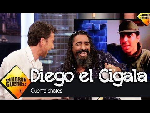 Diego El Cigala se arranca a contar chistes - El Hormiguero 3.0